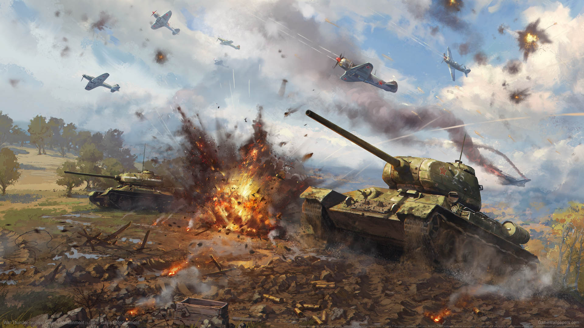 War Thunder Wallpaper Or Background 03