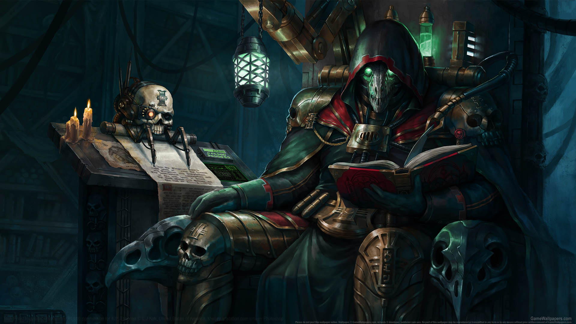 Warhammer 40,000 fan art wallpaper 01 1920x1080