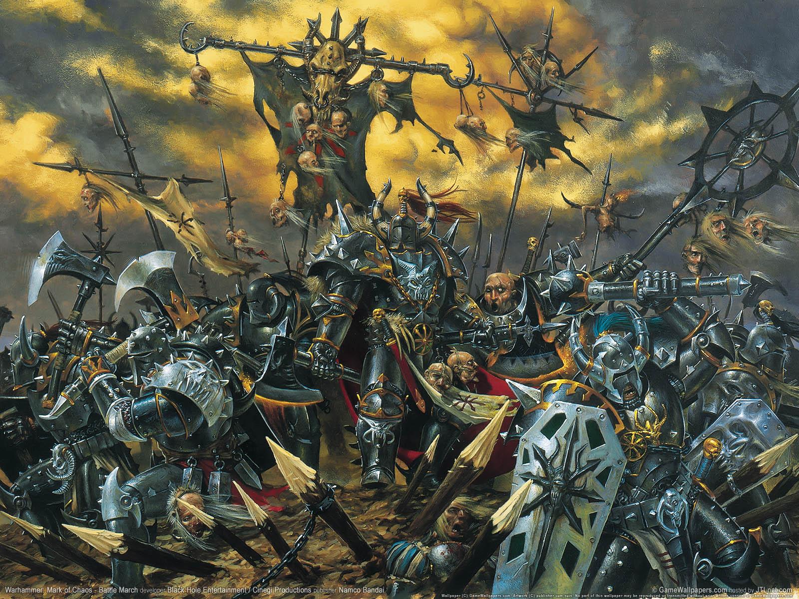 Warhammer3a Mark Of Chaos Battle March Fondo De