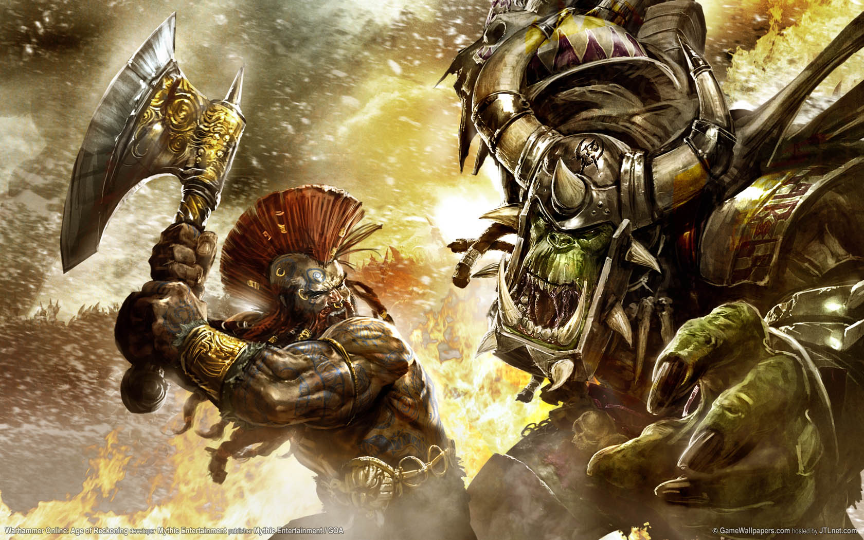 Warhammer Online: Age of Reckoning Hintergrundbild 01 1680x1050
