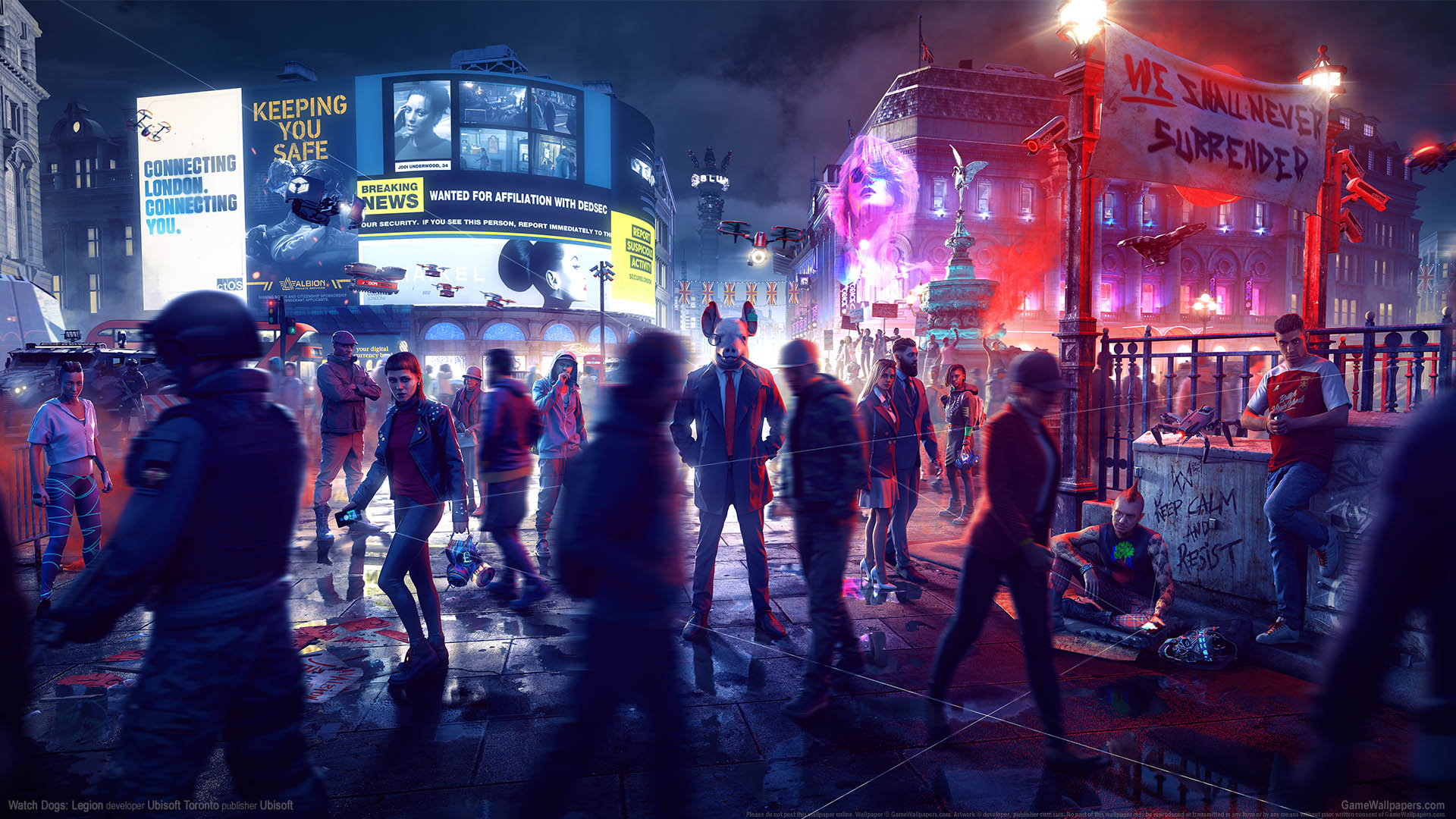 Watch Dogs: Legion Hintergrundbild 01 1920x1080