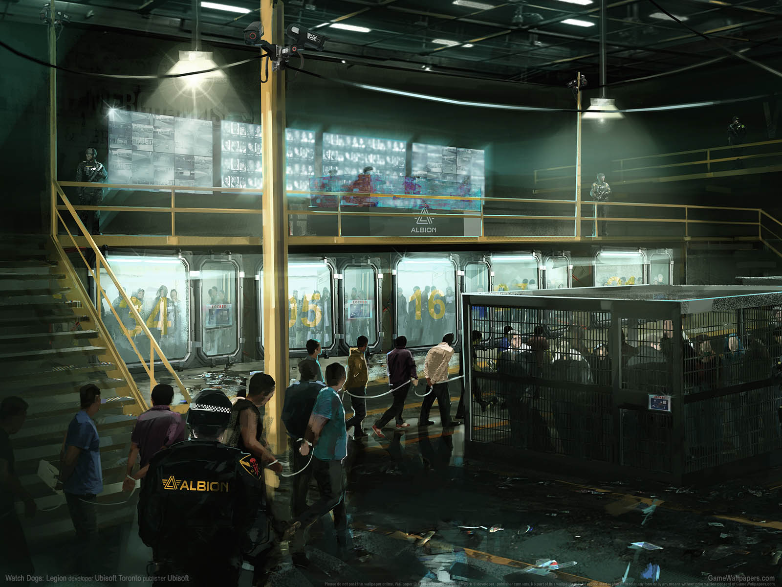Watch Dogs: Legionνmmer=02 Hintergrundbild  1600x1200