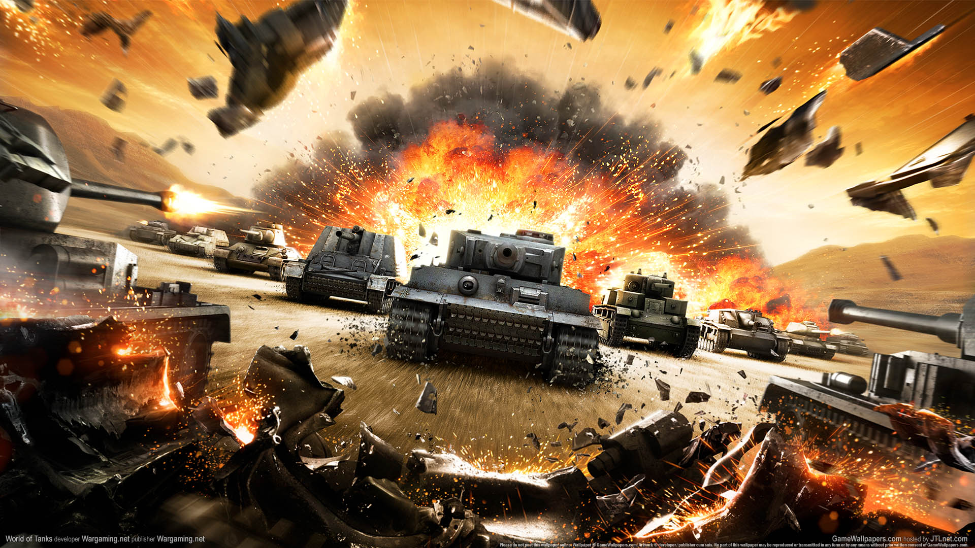 World of Tanks wallpaper 01 1920x1080