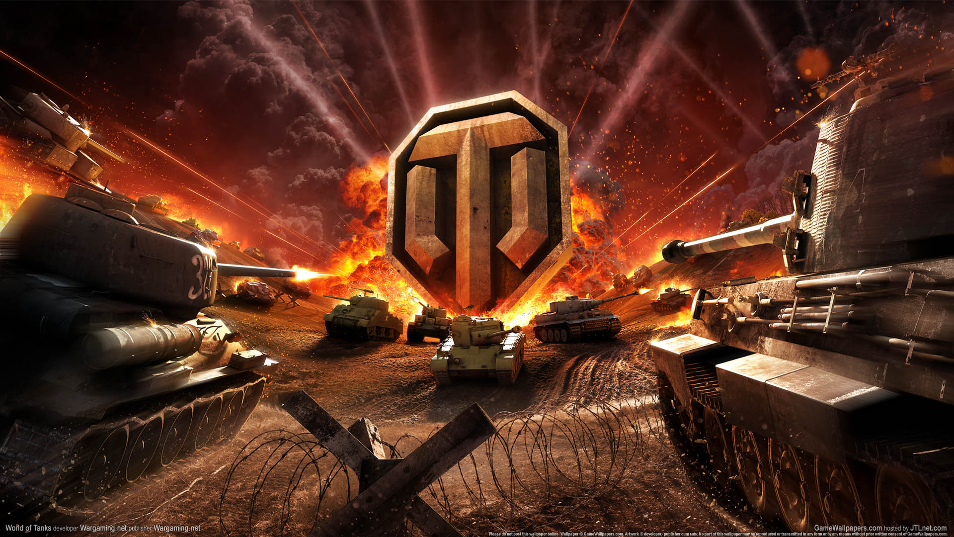 World of Tanks wallpaper 02 1920x1080