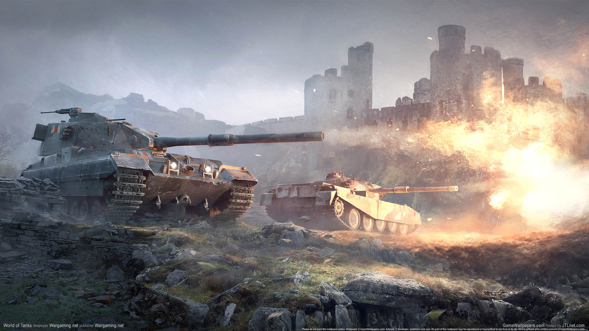 World of Tanks wallpaper 04 1920x1080