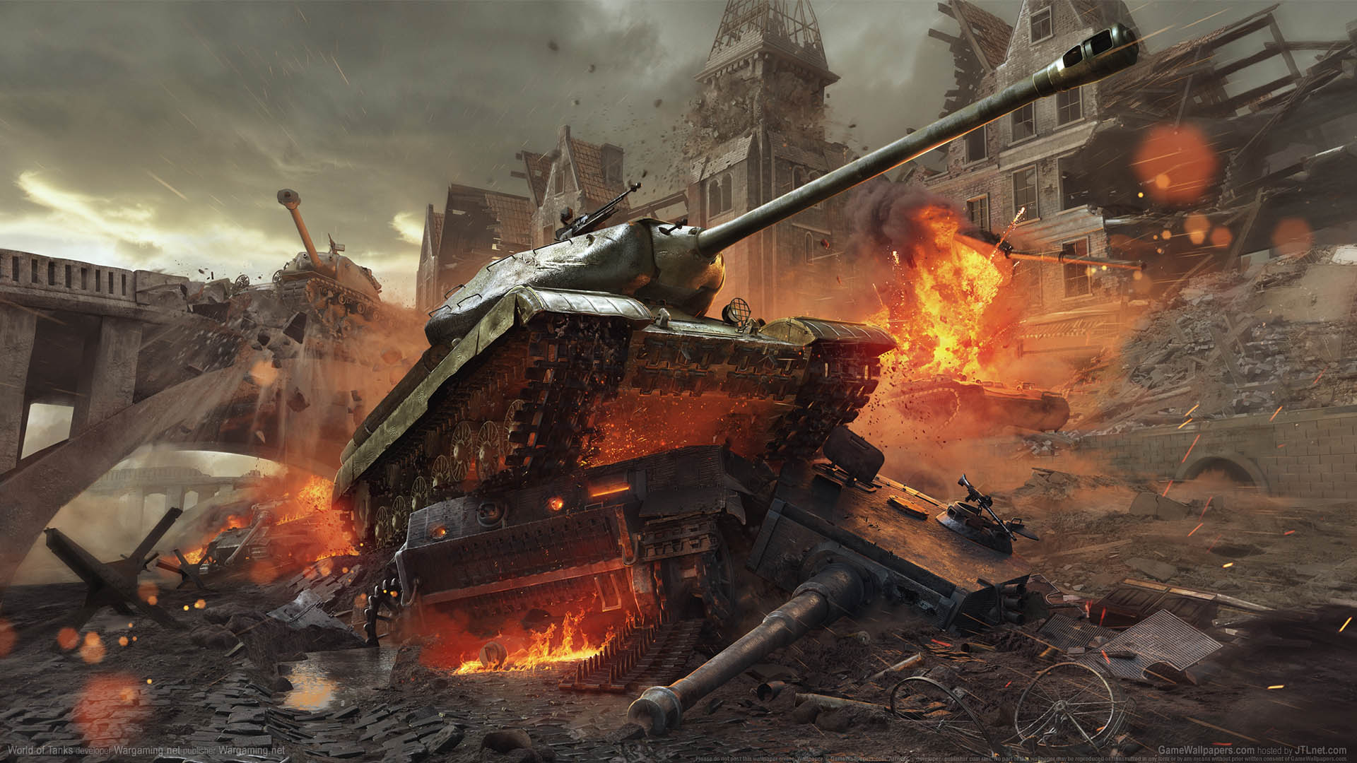World of Tanks wallpaper 08 1920x1080
