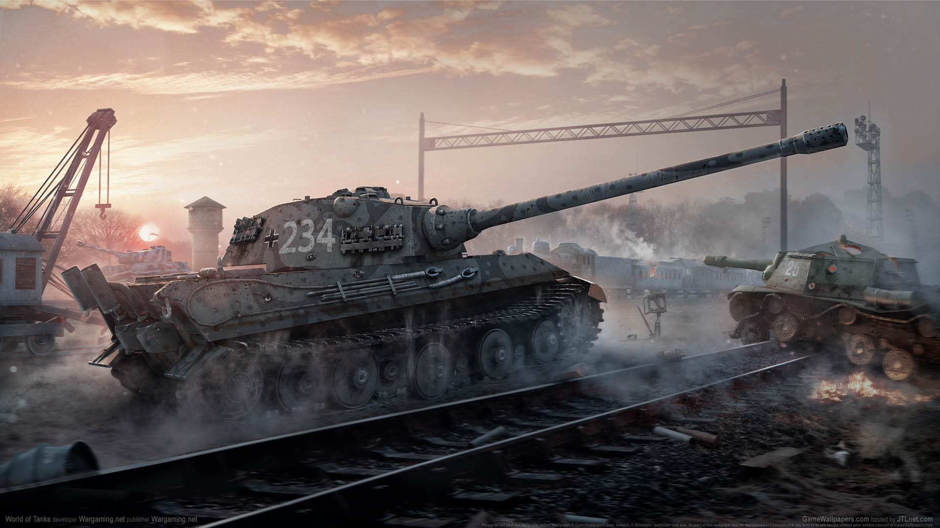 World of Tanks wallpaper 10 1920x1080