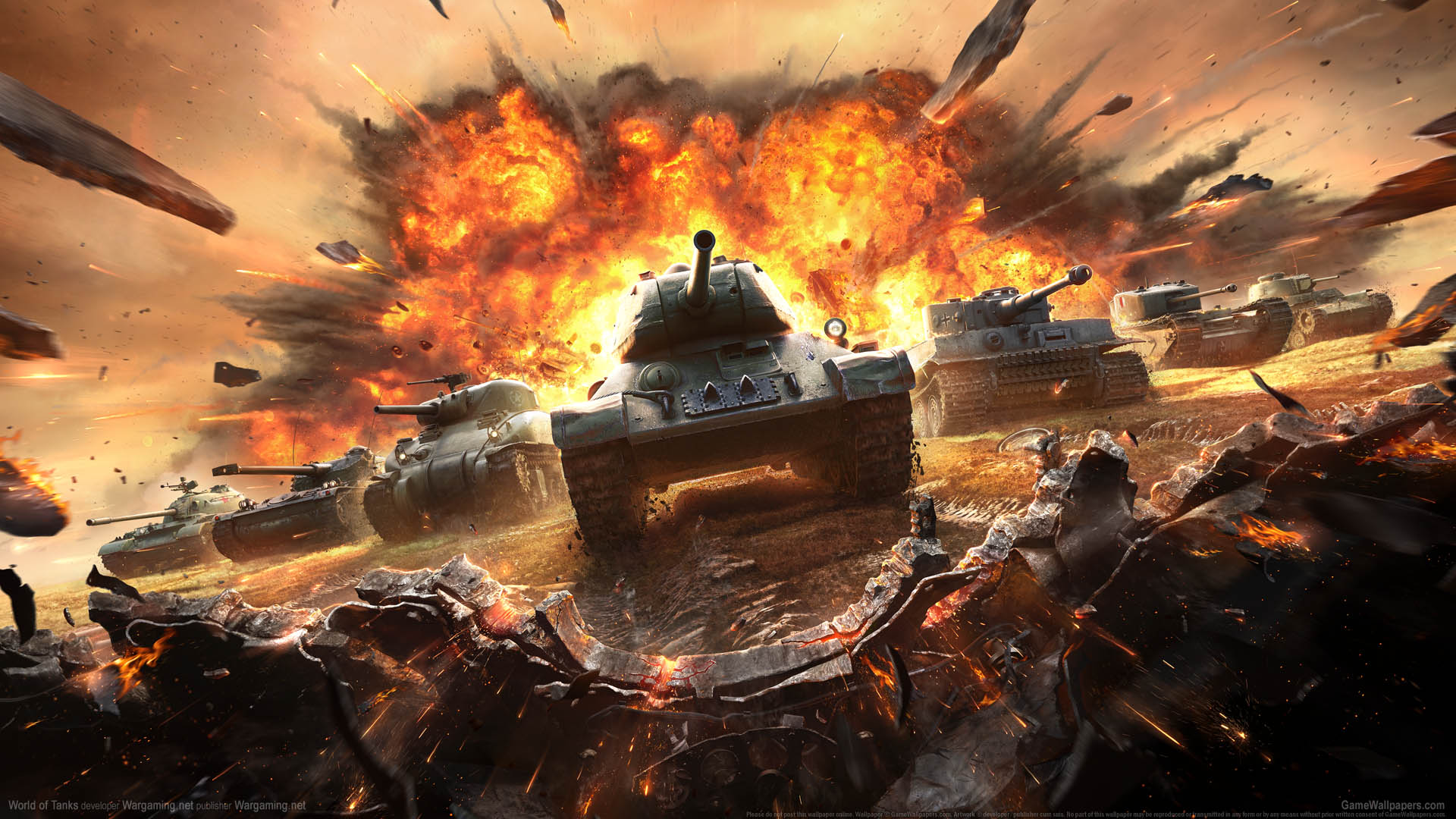 World of Tanks wallpaper 13 1920x1080