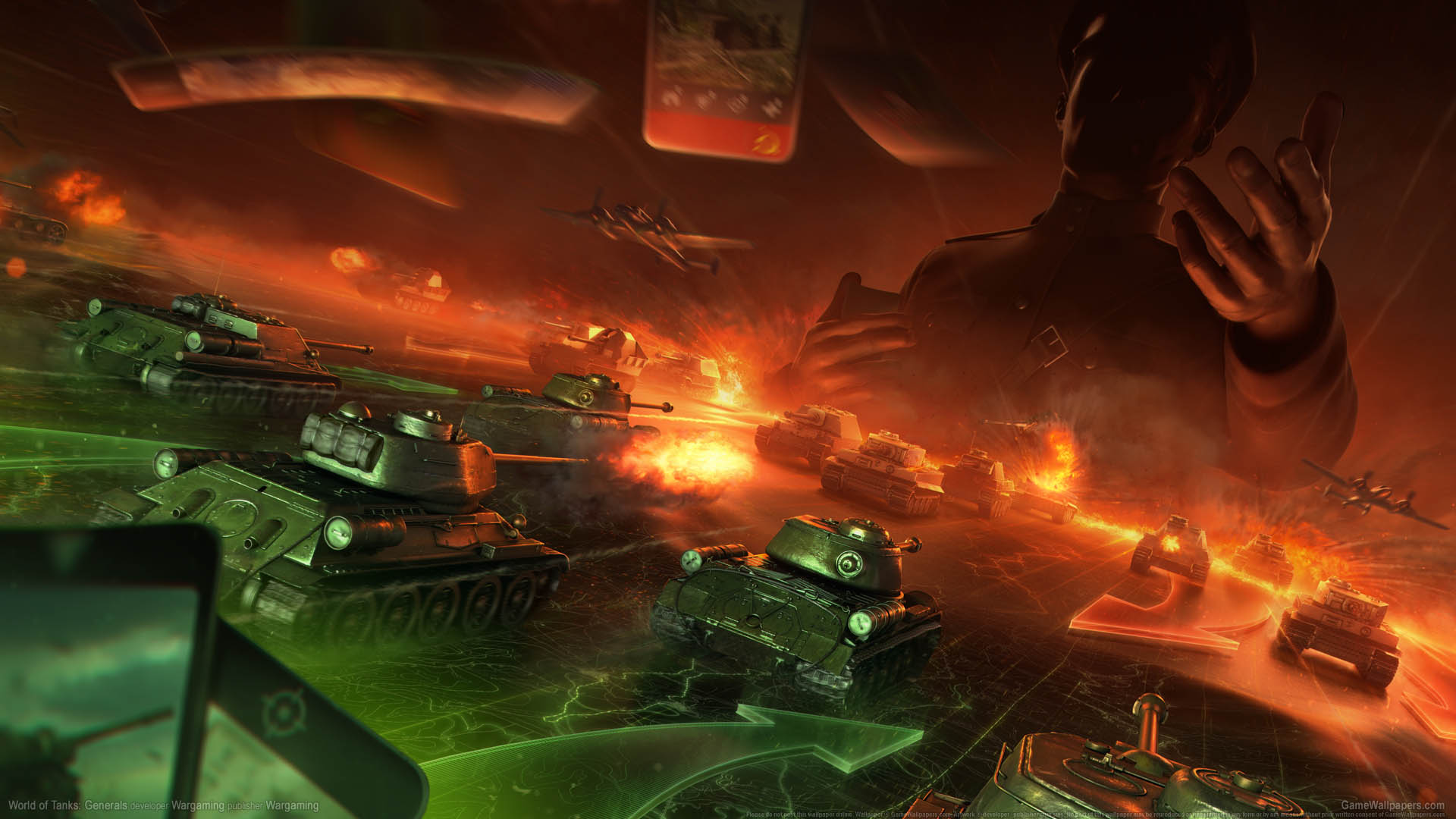 World of Tanks: Generals Hintergrundbild 01 1920x1080