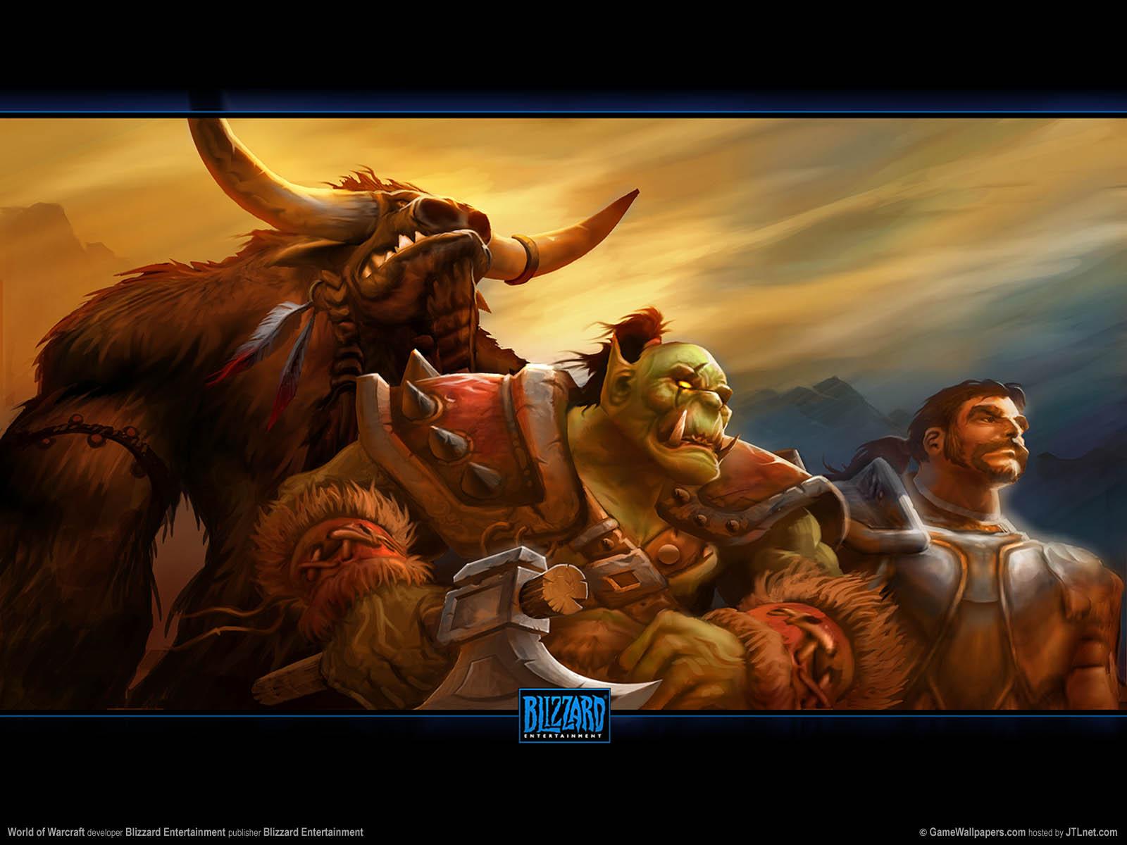 World of Warcraftνmmer=01 Hintergrundbild  1600x1200