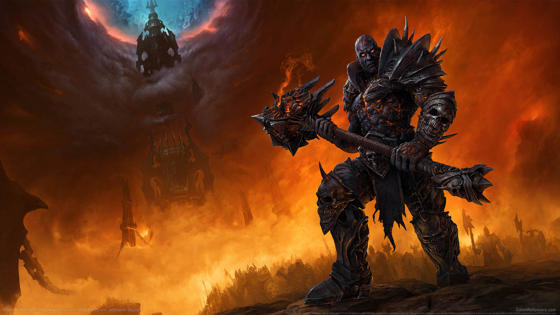 World of Warcraft: Shadowlands fondo de escritorio 01 1920x1080