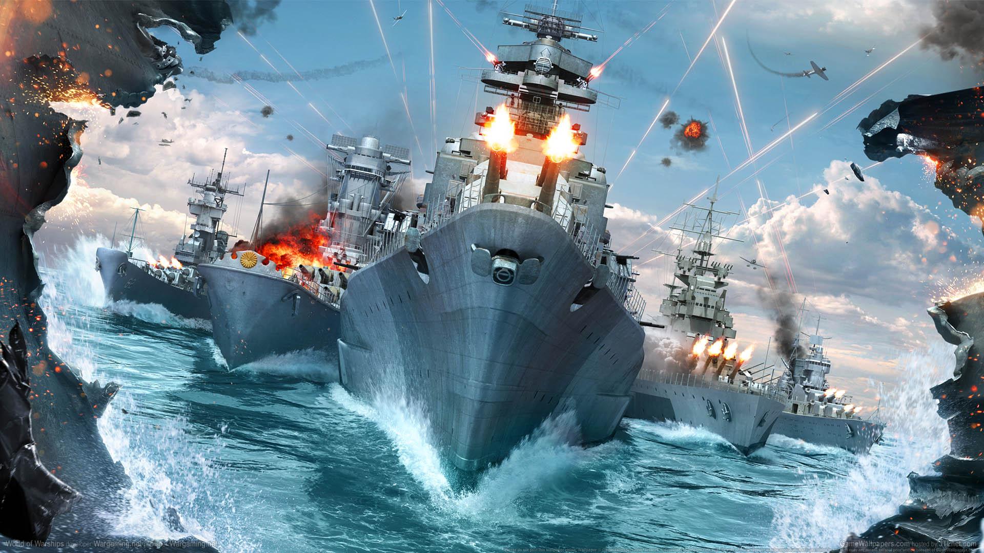 World of Warships Hintergrundbild 01 1920x1080