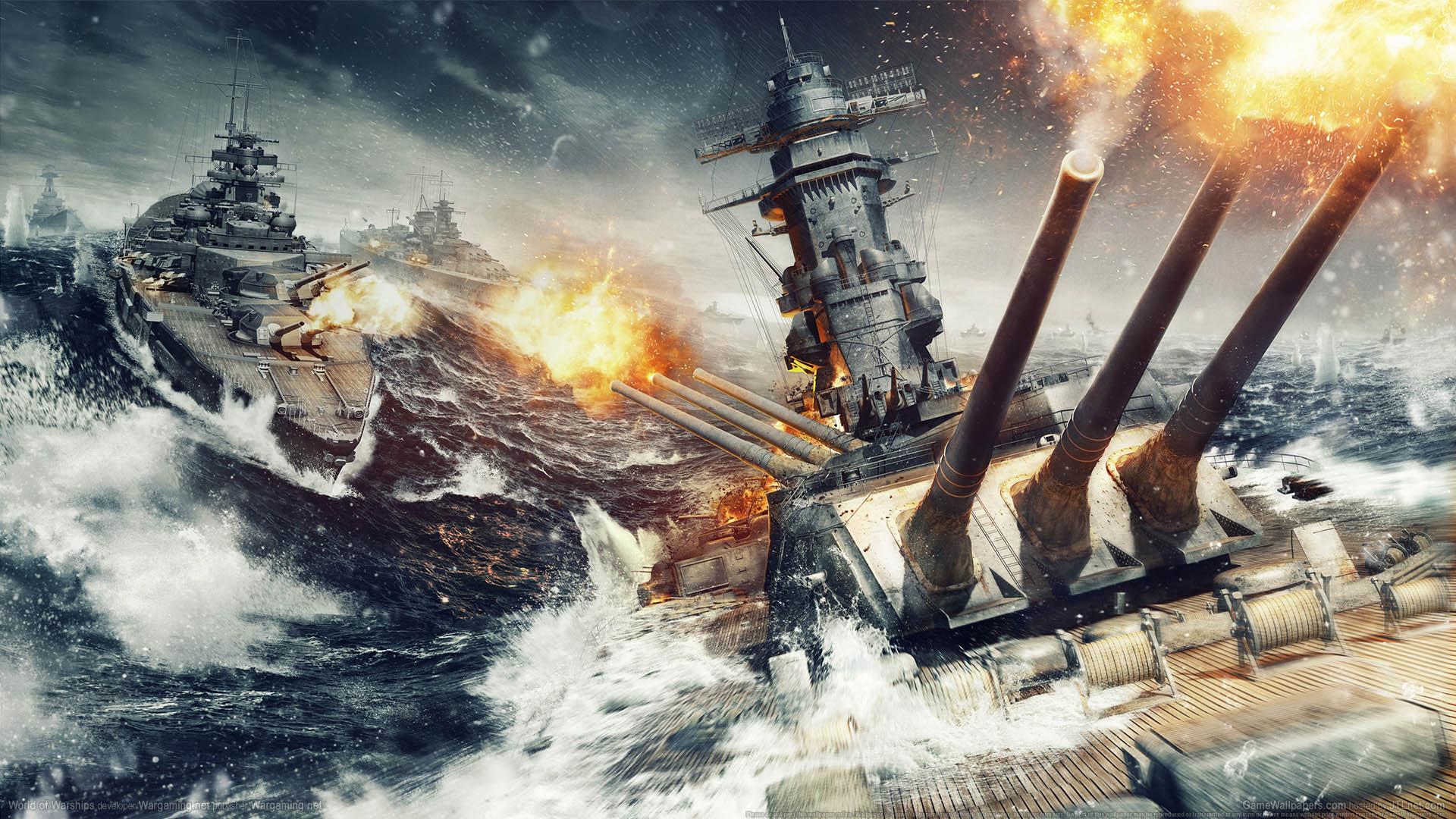 World of Warships wallpaper 02 1920x1080
