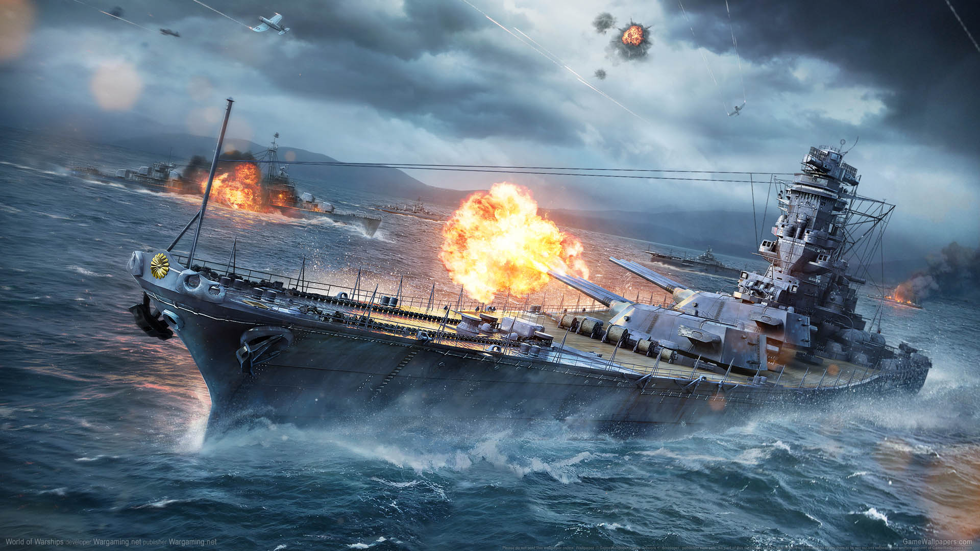 World of Warships wallpaper 04 1920x1080