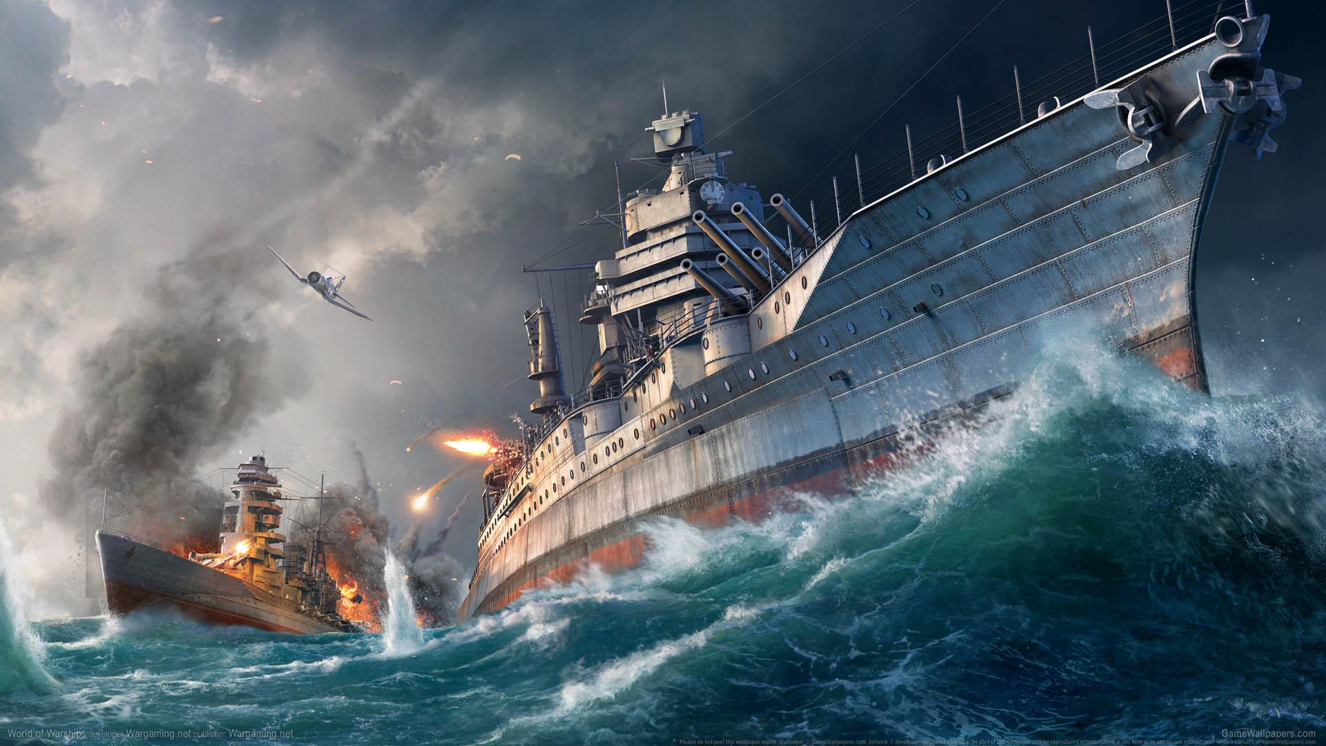 World of Warships fond d'écran 05 1920x1080