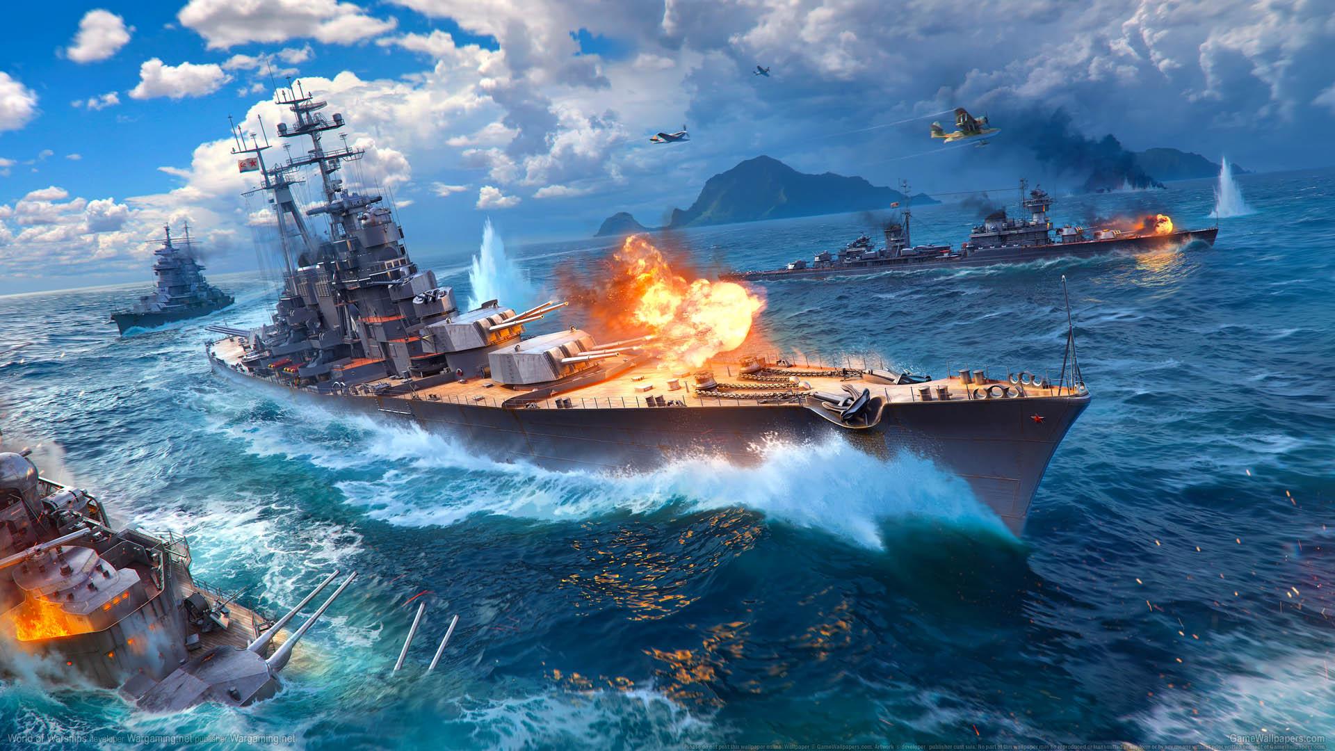 World of Warships wallpaper 10 1920x1080