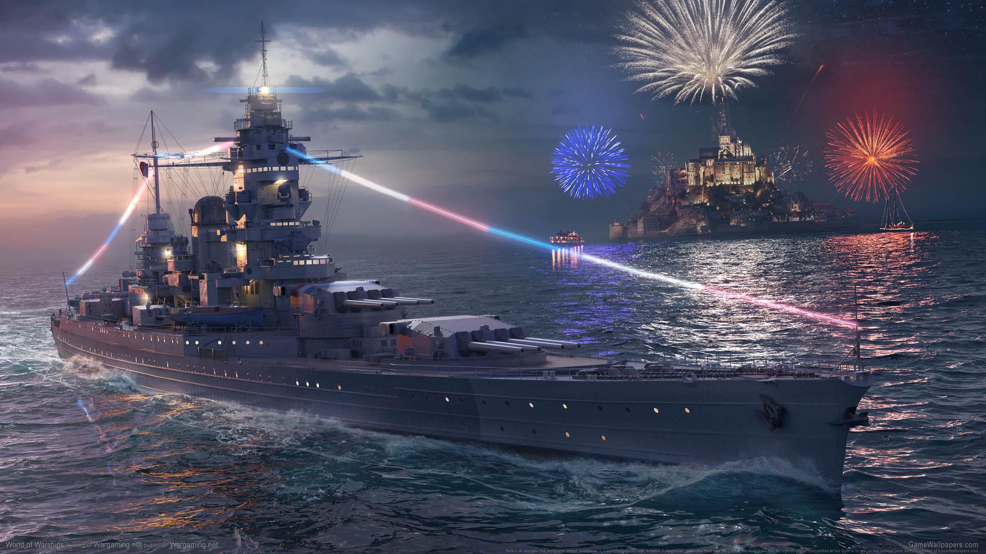 World of Warships fond d'écran 13 1920x1080