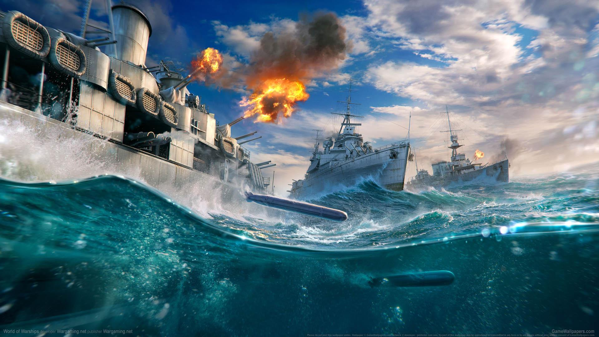 World of Warships fond d'écran 15 1920x1080