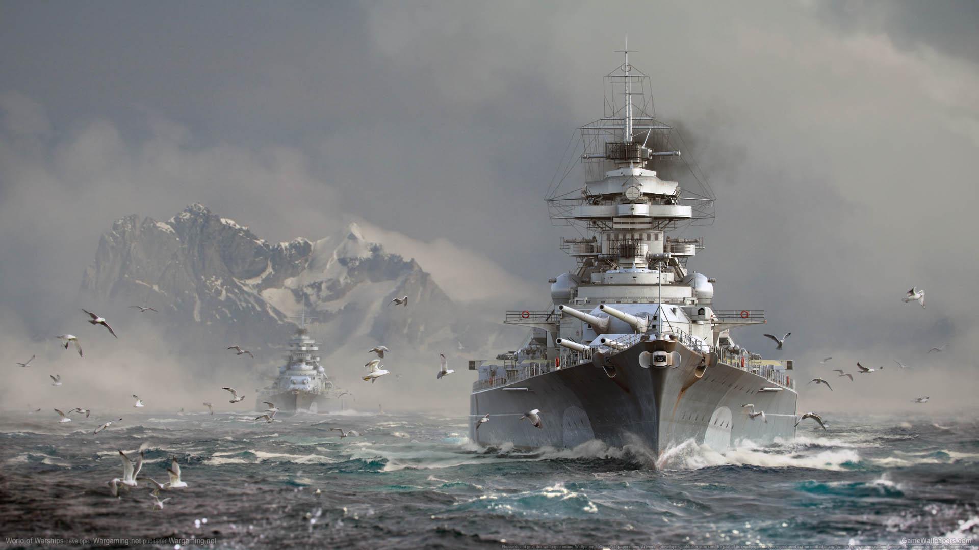 World of Warships fond d'écran 16 1920x1080