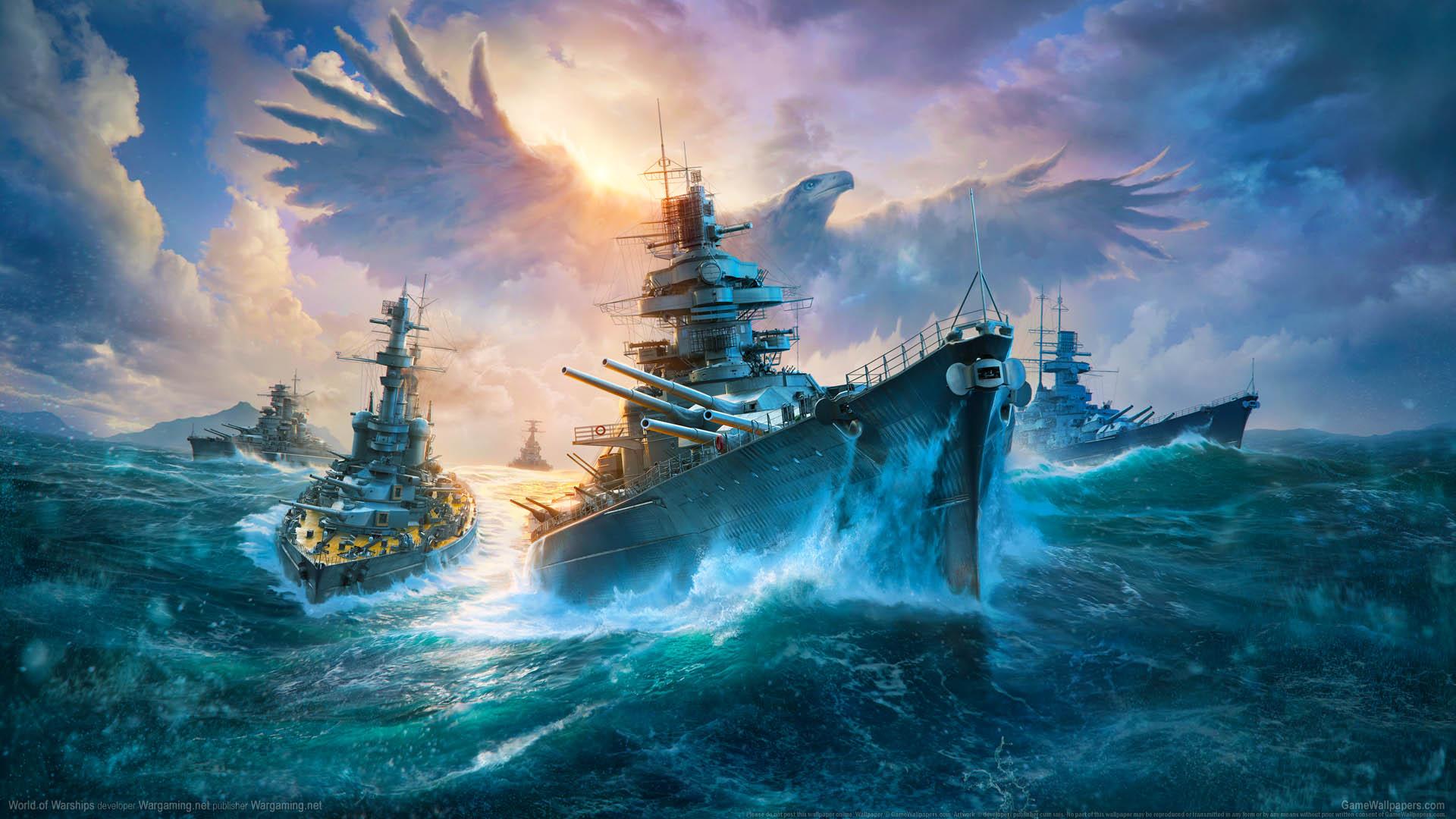 World of Warships fond d'écran 18 1920x1080