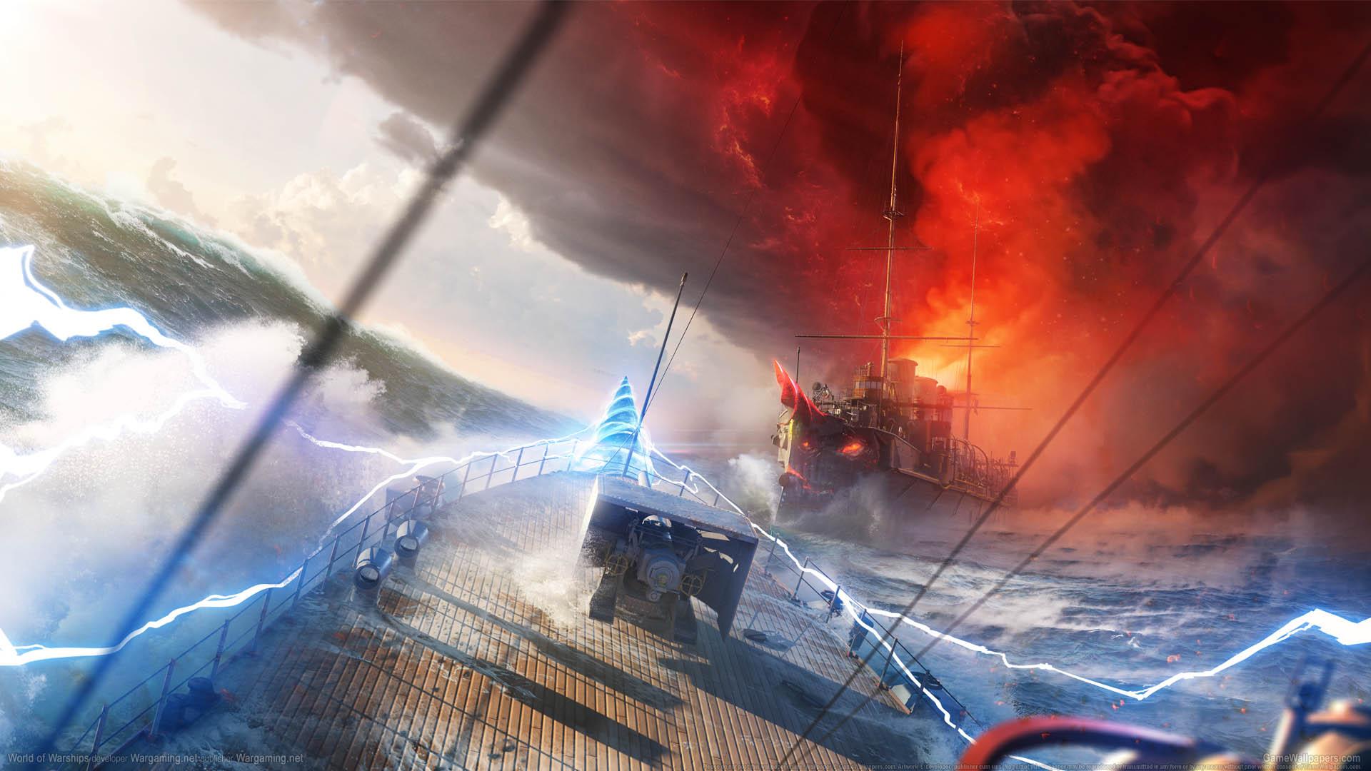 World of Warships fond d'écran 21 1920x1080