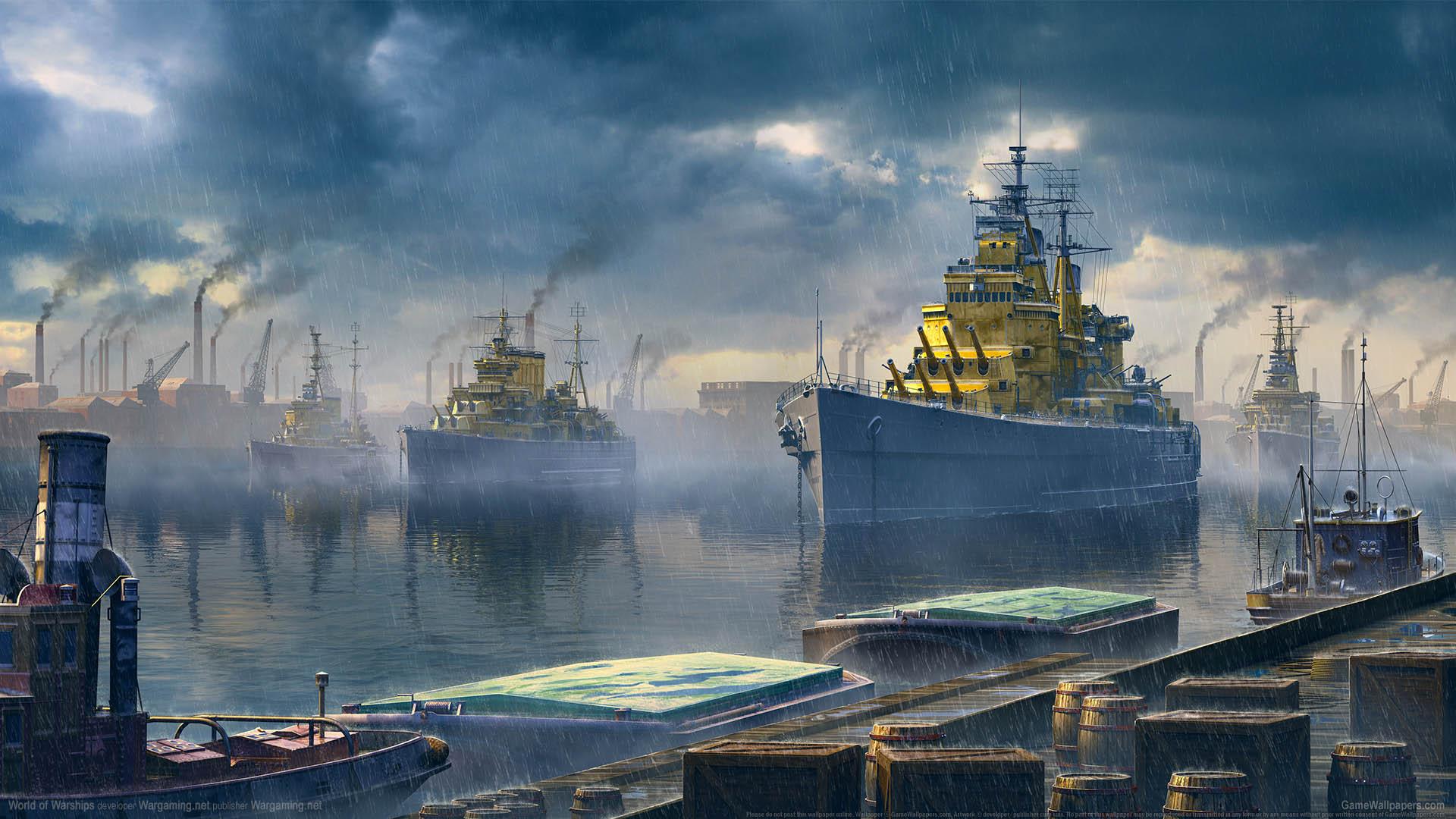 World of Warships fond d'écran 24 1920x1080