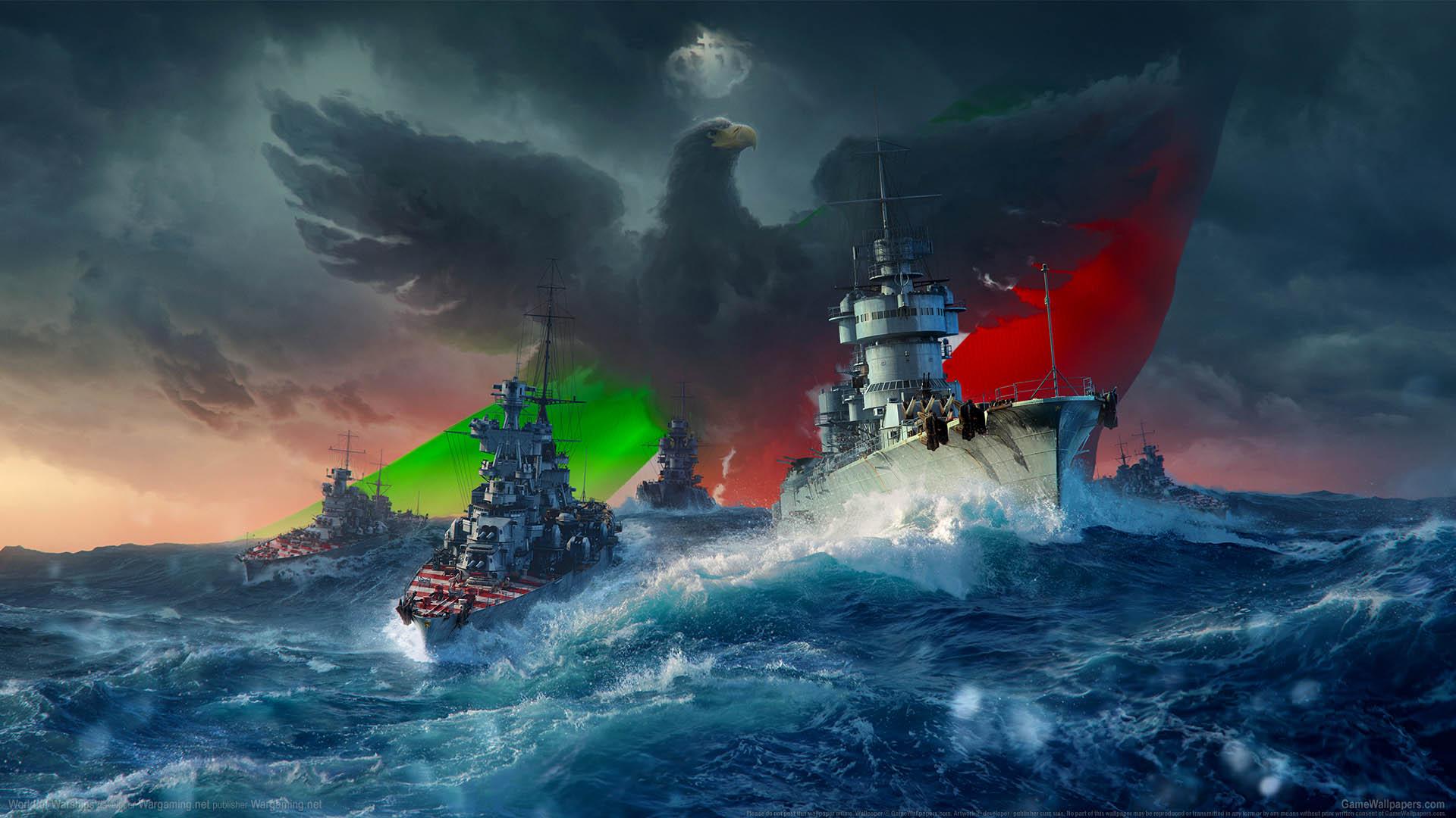 World of Warships fond d'écran 25 1920x1080