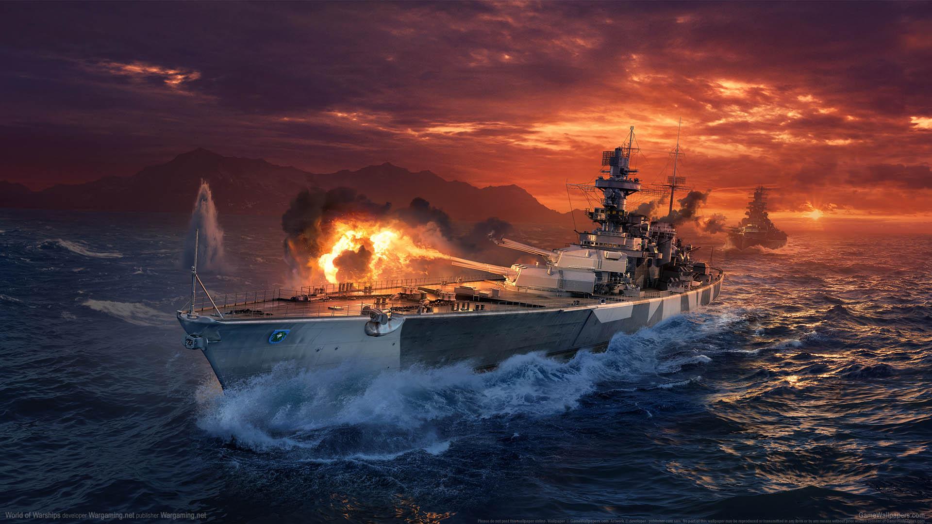 World of Warships wallpaper 26 1920x1080
