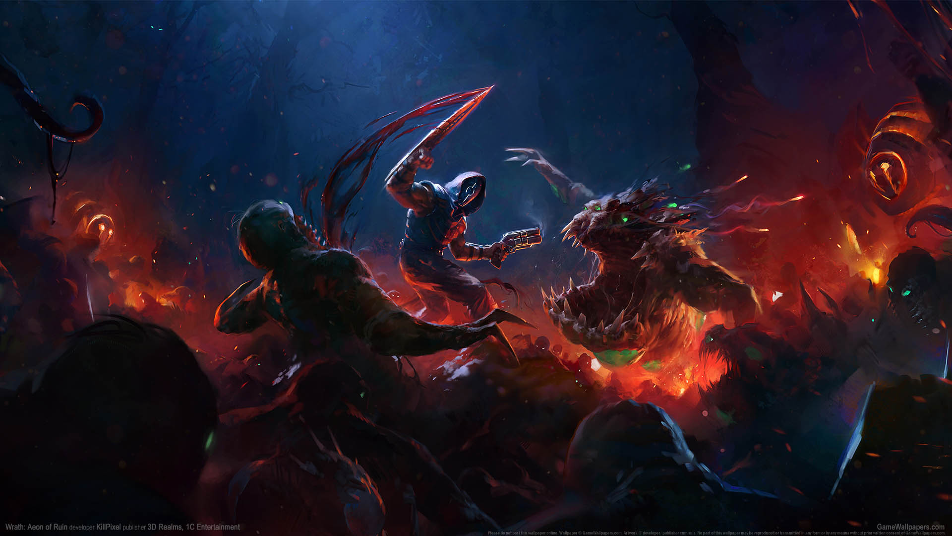 Wrath: Aeon of Ruin achtergrond 01 1920x1080