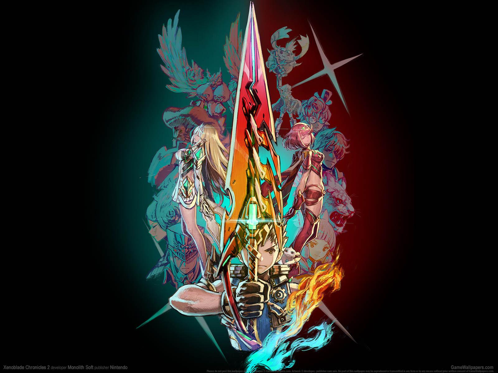 Xenoblade Chronicles 2νmmer=01 Hintergrundbild  1600x1200