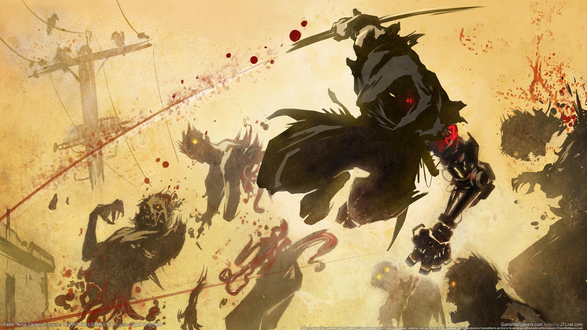 Yaiba: Ninja Gaiden Z Hintergrundbild 01 1920x1080