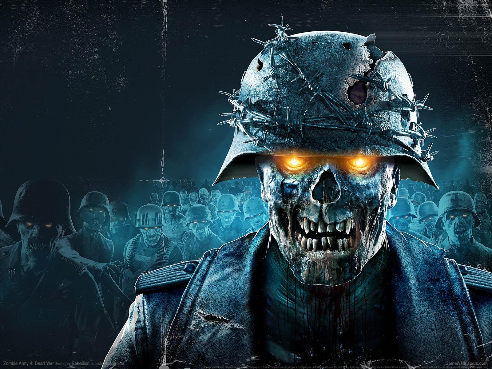 Zombie Army 4: Dead Warνmmer=01 Hintergrundbild  1600x1200
